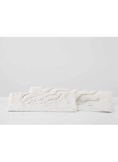 İrya Banyo Paspası Takımı Estela Mor 40x60+55x85 Ekru